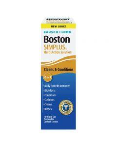 Boston Simplus Contact Lens Solution, 3.5 oz. Irrigating Solutions