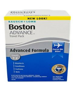 Boston Advance Contact Lens Travel Pack Irrigating Solutions