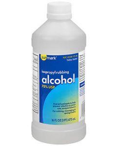 Isopropyl Rubbing Alcohol 70%, 16 oz. Miscellaneous