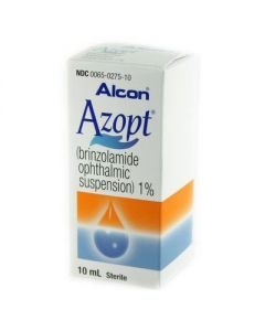 Azopt Drops 1%, 10mL Glaucoma Agents