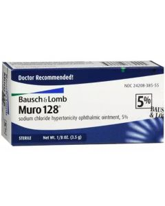 Muro 128 Ointment 5%, 3.5gm Miscellaneous