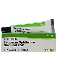 Bacitracin Ointment 3.5gm Clinical Medications & Supplies