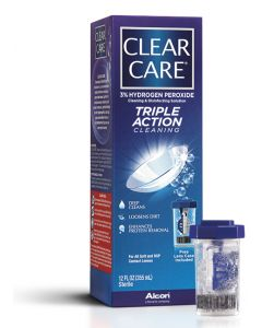 Clear Care Triple Action Contact Lens Solution, 12 oz. Irrigating Solutions