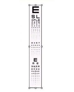 Adult Acuity Projector Slide Eye Charts & Visual Tests