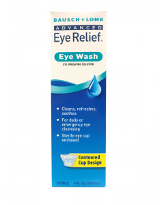 Eye Wash Irrigating Solution, 4 oz. Over The Counter Pharmaceuticals