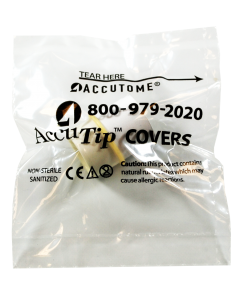 AccuTip Covers - Sleeved Individually Wrapped, 100 - Sanitized Seasonal Rx Specials