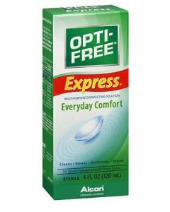 Opti-Free Express Contact Lens Solution, 4 oz. Irrigating Solutions