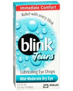 Blink Tear Drops 0.25%, 15mL Dry Eye