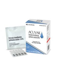Acuvail Drops 0.45%, 0.4mL - Preservative Free Anti-Inflammatories