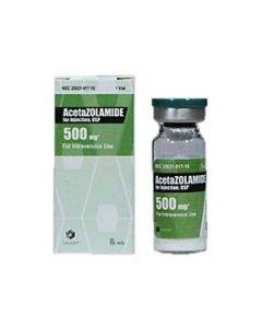 Acetazolamide 500mg, 10ml PF