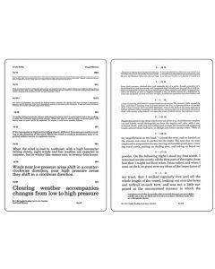 A.M.A Paragraph Card