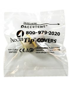 AccuTip Covers - Sleeved Individually Wrapped, Sanitized, 300 Qty