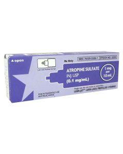 Atropine 0.1mg/ml, 10ml