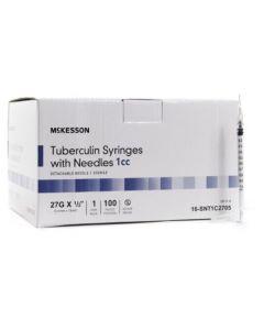 1mL Hypodermic Syringe with Needle 27g