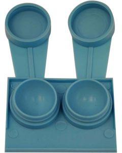 Contact Lens Case Blue