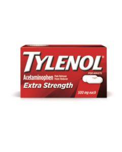 Tylenol caps 500mg x-stren