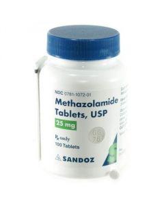 Methazolomide 25mg 100s