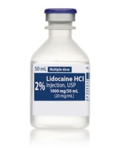 Lidocaine 2%, 50mL