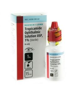 Tropicamide 1%, 15ml