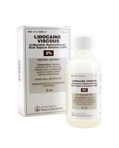 Lidocaine 2%, 100ml, viscous