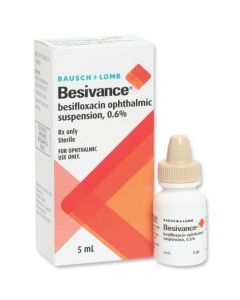 Besivance 0.6% 5ml
