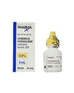 Levobunol .5%, 5mL
