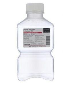 Water, Sterile, 1000cc Bottle