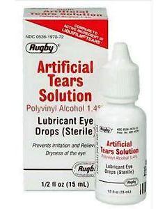 Artificial Tear Drops 1.4%, 15mL