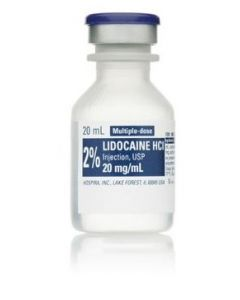 Lidocaine 2% 25x20ml