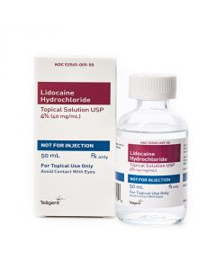 Lidocaine 4%, 50ml Topical