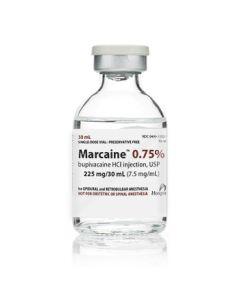 Marcaine .75% 30ml