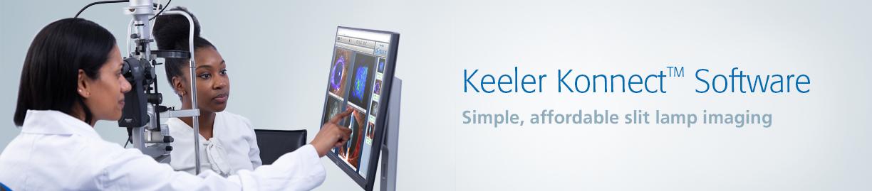 Keeler Konnect Slit Lamp Eye Imaging Software
