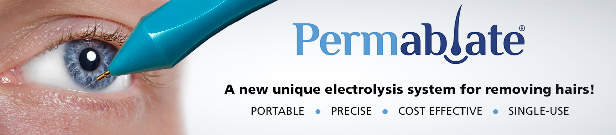 Permablate electrolysis hair removal device