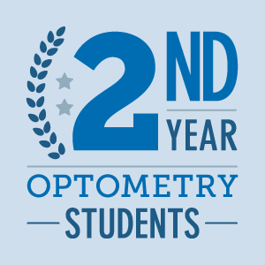 2nd year optometry students