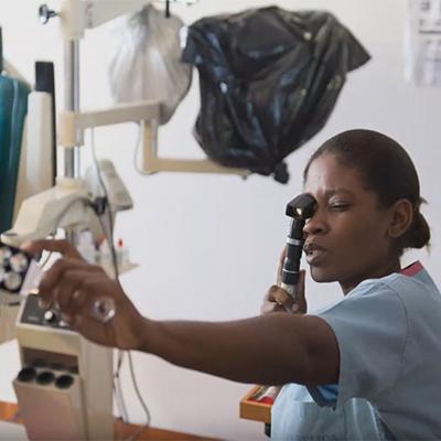 Keeler Donations to Global Eye Project, Haiti