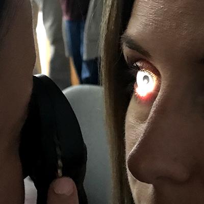 The gift of sight eye screening