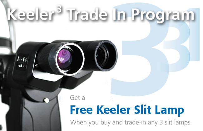 Keeler Power of 3 Slitlamp Trade-in Program