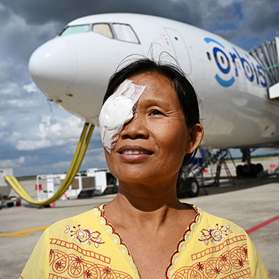 Orbis Takes the 4Sight to Myanmar