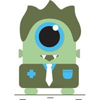 Monster 1 eye